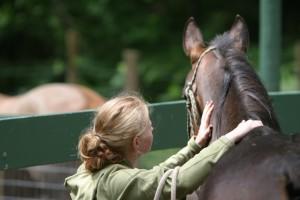 Felisa with Horse